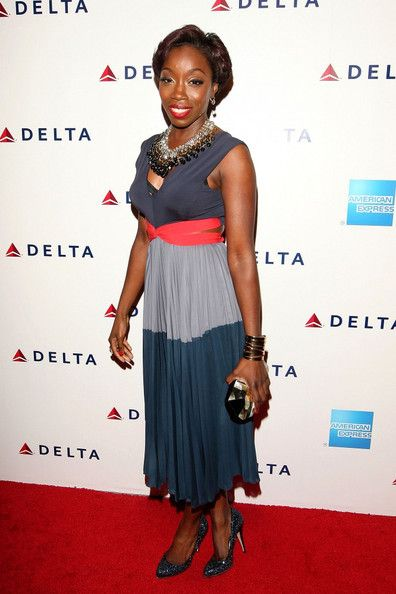 Estelle at The Delta Party at Getty House