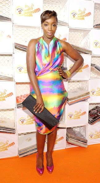 Singer Estelle attends Malibu Rum`s First Day Of Summer Kick Off at Tribeca Rooftop on June 21, 2010 in New York City.