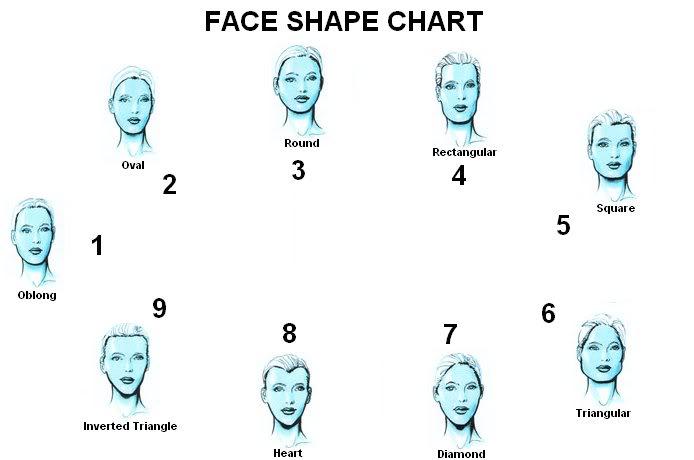 FaceShapeChart