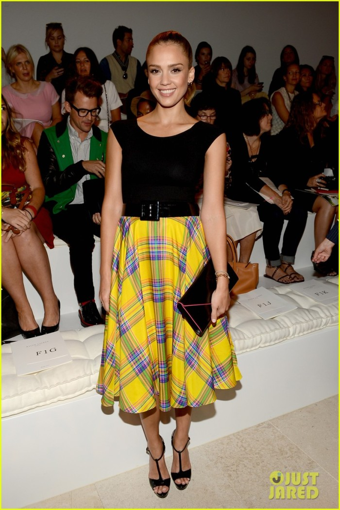 Ralph Lauren - Front Row - Spring 2013 Mercedes-Benz Fashion Week
