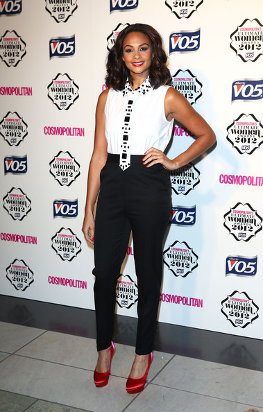 alesha-dixon-cosmopolitan-women-of-the-year-awards-london-gerard-darel-top-stella-mccartney-pants-charlotte-olympia-masako-pumps