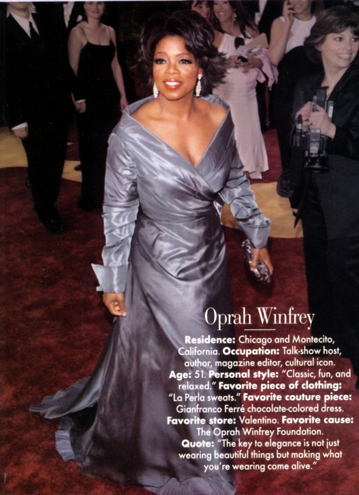 Oprah Winfrey Turns 60: Her Curvy Girls Style Tips | Silhouette Trend