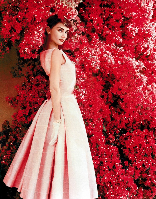audrey-hepburn-style-icon-red-dress