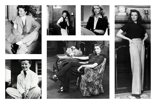 Katharine-Hepburn-style