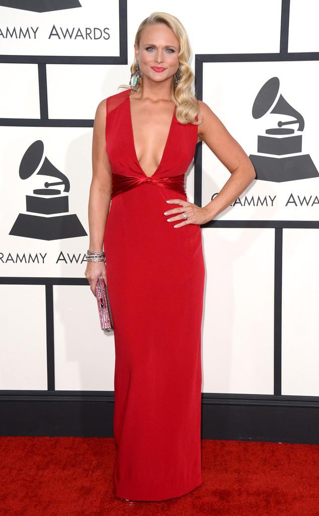 Miranda Lambert in custom Pamella Roland gown
