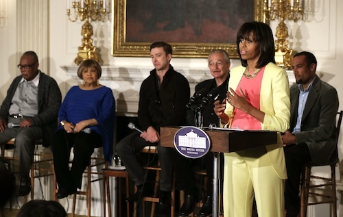 Michelle Obama Host Students For Memphis Soul Musical Workshop