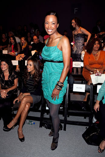 Mercedes-Benz Fashion Week Spring 2011 - Tracy Reese - Front Row & Backstag