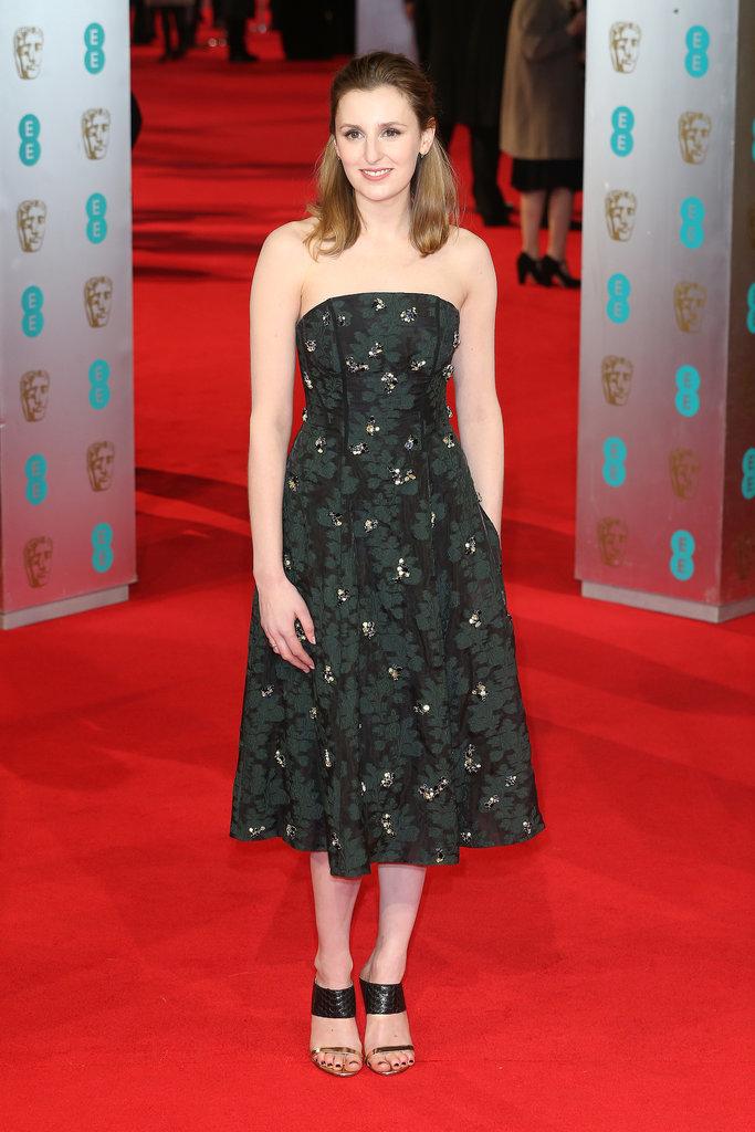 Laura-Carmichael-2014-BAFTA-Red-Carpet