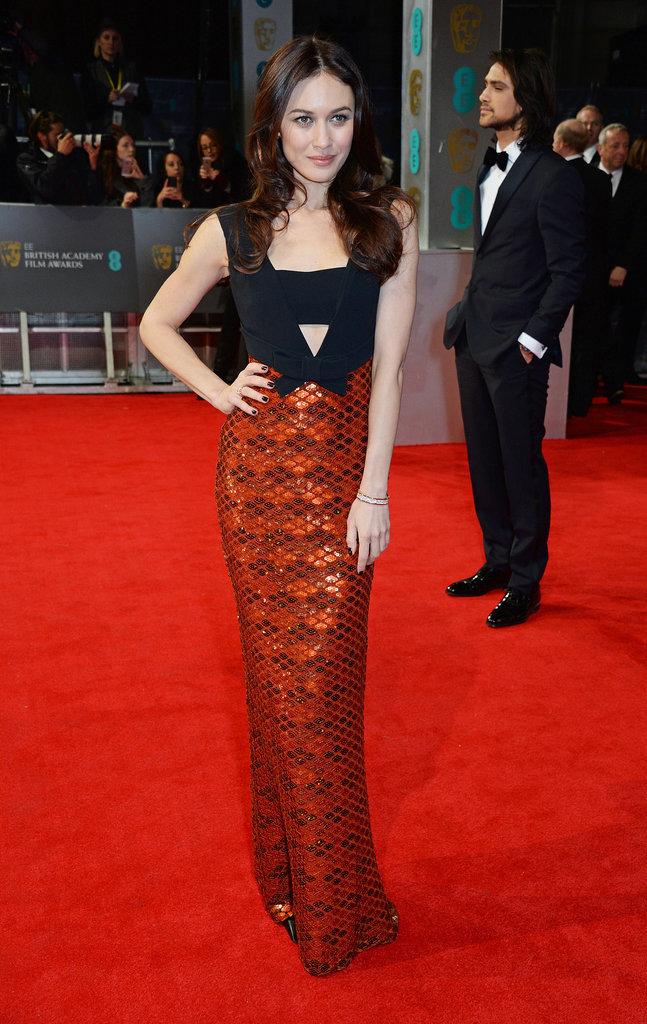 Olga-Kurylenko-2014-BAFTA-Red-Carpet