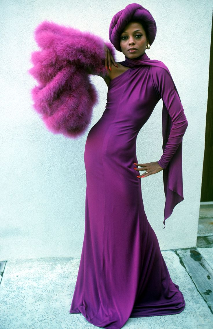 Style Icon Diana Ross Silhouette Trend