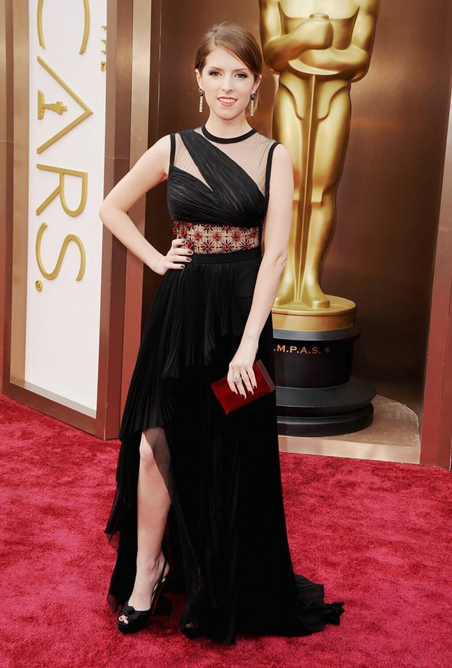Anna Kendrick at the #Oscars in @jmendel. Thoughts?
