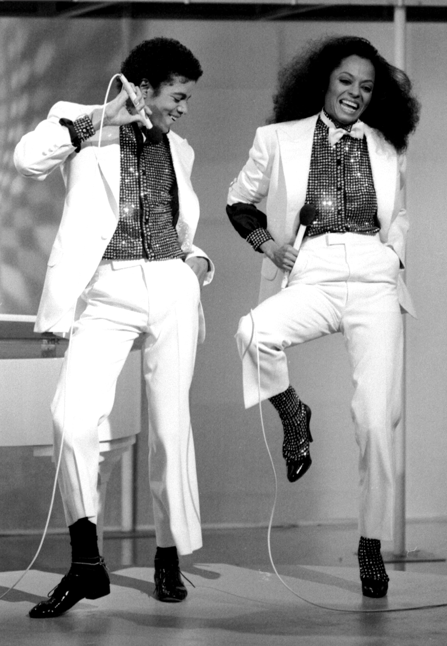 Michael And Diana Ross Michael Jackson