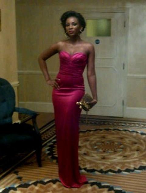 Genevieve-Nnaji-and-her-designer-dress