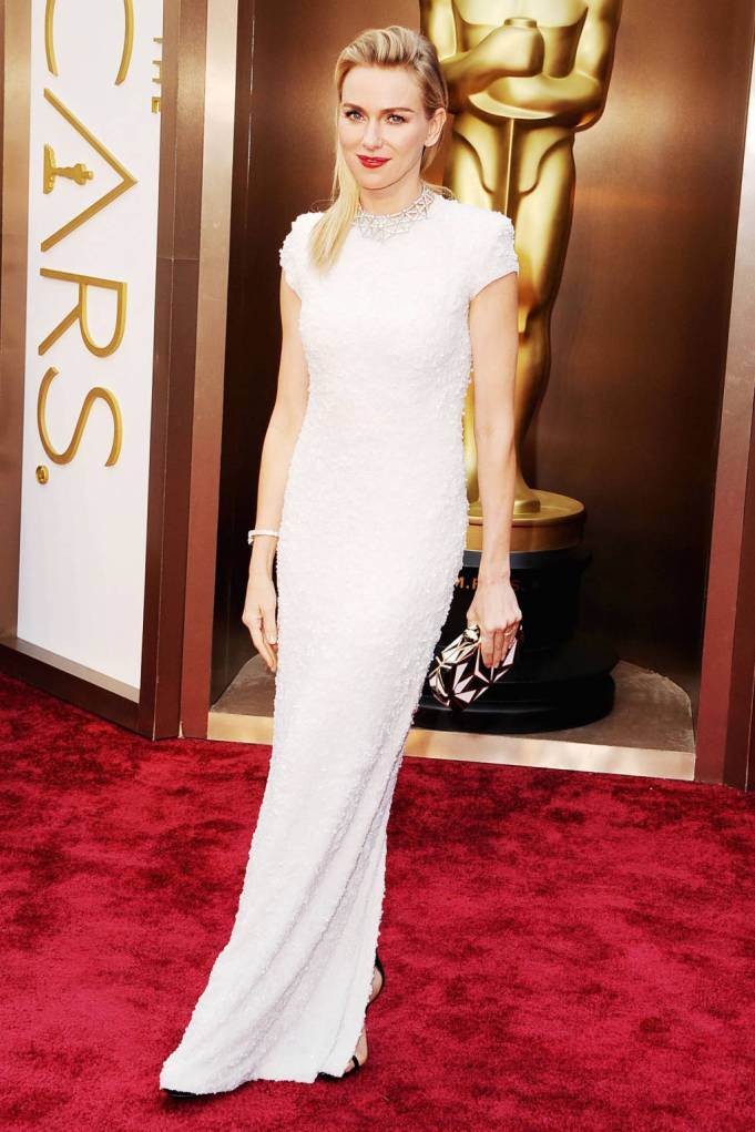 Naomi Watts in Calvin Klien collection