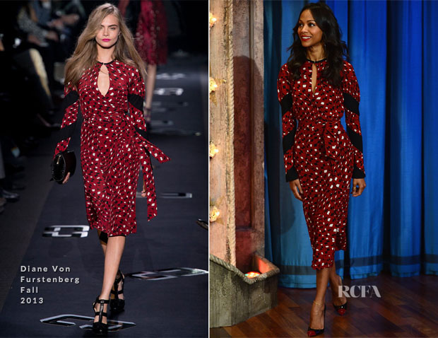 Zoe-Saldana-In-Diane-von-Furstenberg-Late-Night-with-Jimmy-Fallon