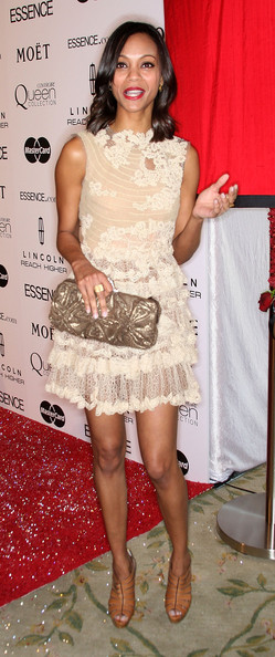 Zoe+Saldana+Clutches+Metallic+Clutch+IaZnm2ADsEyl