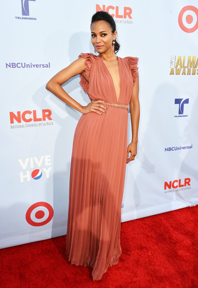 Zoe+Saldana+Dresses+Skirts+Evening+Dress+iBLFOiaAHkrl