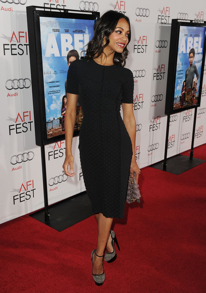 Zoe+Saldana+Dresses+Skirts+Little+Black+Dress+-kO5fLuxEfBl