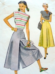 Sewing-pattern-culottes