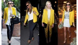 Banner-Kim-Kardashian-Beyonce-Miranda-Kerr-Kirsten-Dunst-In-Stella-McCartney-Yellow-Blazer-Who-Wore-iT-Best