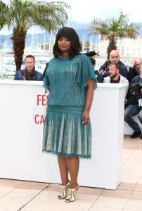 Hot-or-Hmm-Octavia-Spencers-Cannes-Film-Festival-Tadashi-Shoji-Blue-Lace-Dress