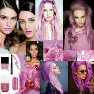 LDD orchid collage beauty