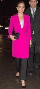natalie-portman-hot-pink-fuchsia-coat-celebrity-trend-2013