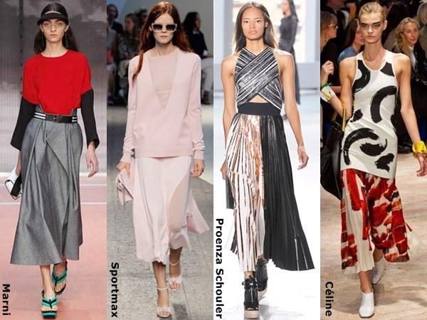 Spring-Summer-2014-Tea-Length-Skirt-Fashion-Trend