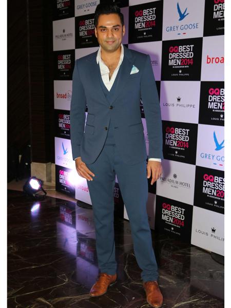 Actor Abhay Deol during GQ Best Dressed Men 2014 awards at Palladium Hotel in Mumbai. (Photo: IANS)