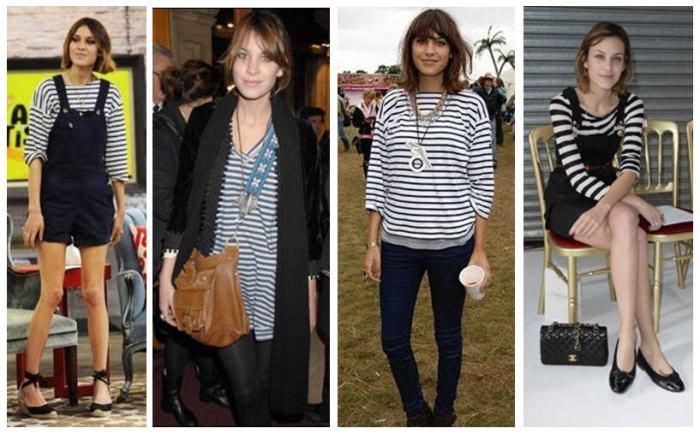 alexa chung striped shirts
