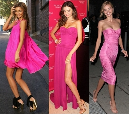 Miranda-Kerr-Loves-Gorgeous-Pink-Dress
