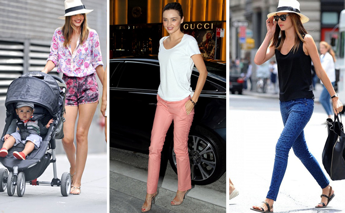 Myss Of The Week Miranda Kerr Summer Style Chic Silhouette Trend