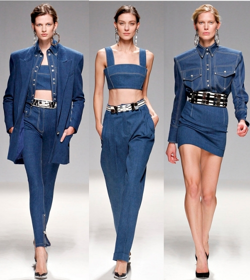 Partly_Sunny_Denim_Balmain_Spring_2013