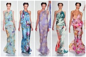 venexiana spring 2014 runway show new york fashion week trends florals