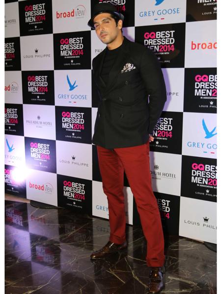 Actor Zayed Khan during GQ Best Dressed Men 2014 awards at Palladium Hotel in Mumbai. (Photo: IANS)
