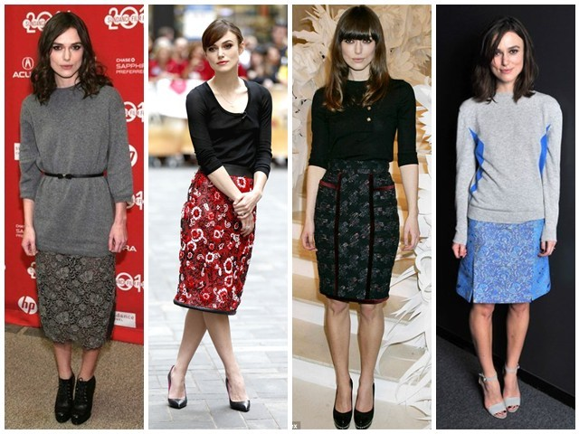 Keira Knightley Fashion Do S And Don Ts For The Rectangular Body Shape Silhouette Trend