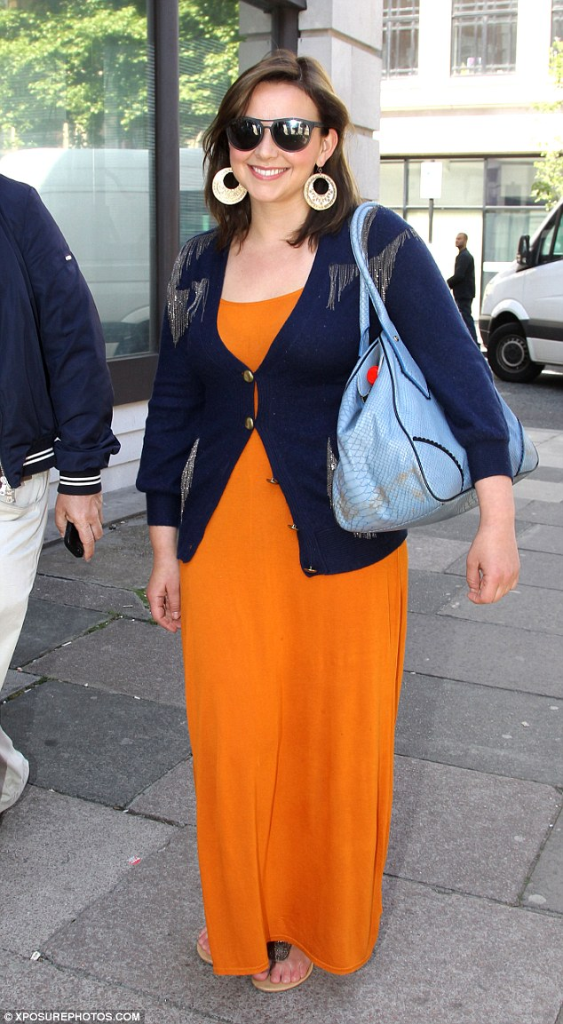 Charlotte Church in the Topshop dress