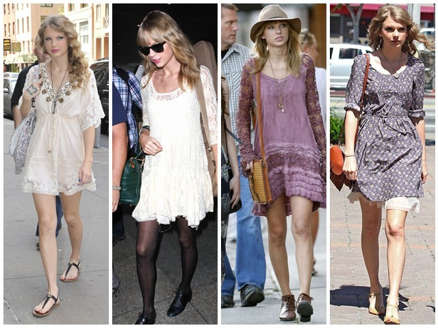 Myss Of The Week Taylor Swift Style Guide For The Brits Silhouette Trend