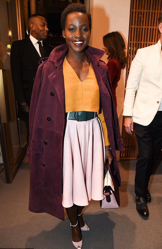 Lupita Nyong'o in Bally Spring collection