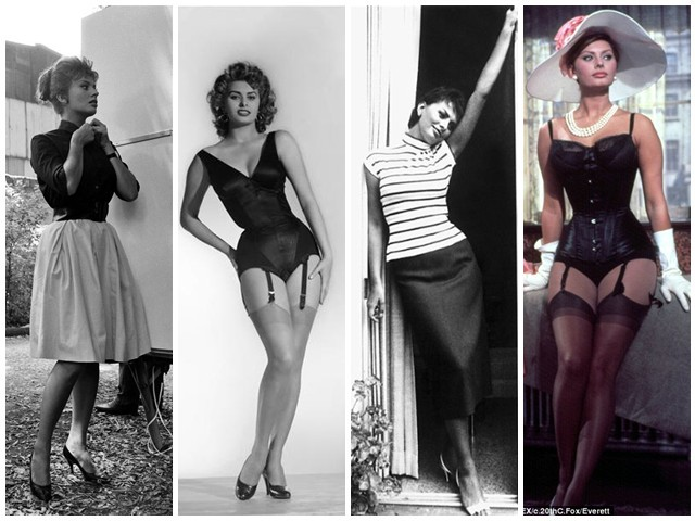 b81bf6b0fe2f Style Icon – Sophia Loren Style Guide For The Curvy Woman ...