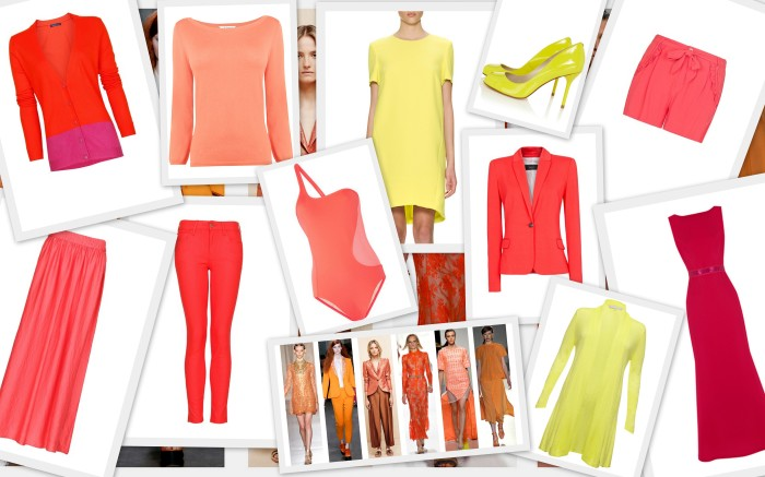 Spring / Summer 2013 Trend: Sunset Colours