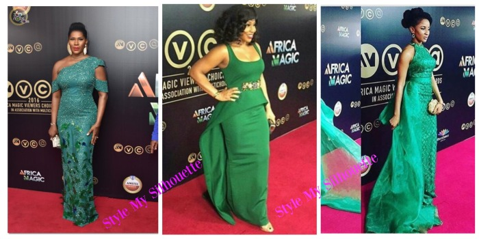 AMVCA Green with Envy