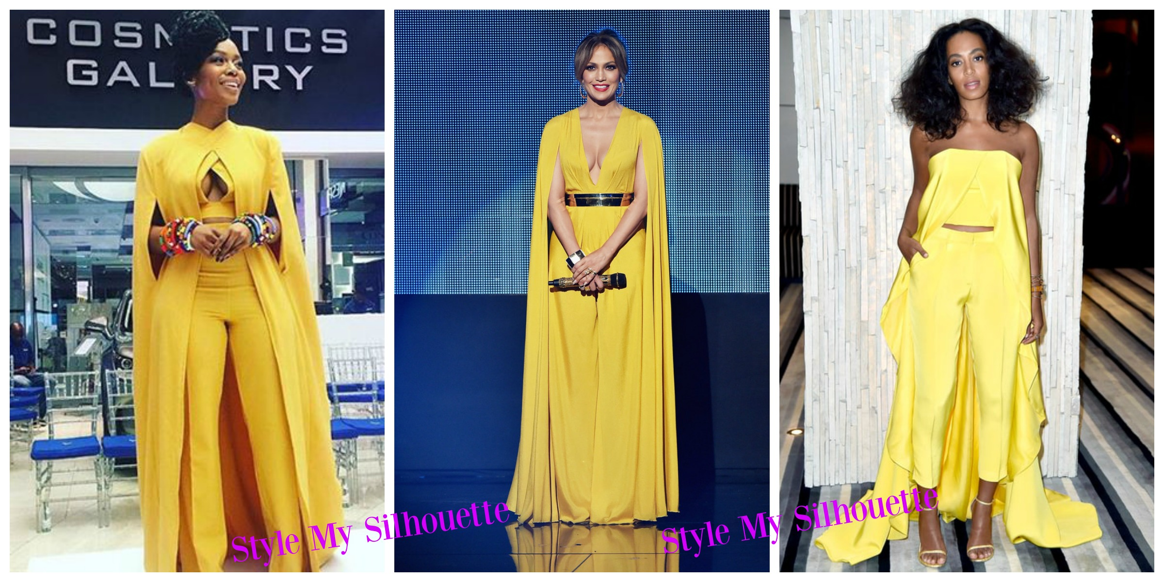 How Celebrities Dressed to Impress in Mustard Yellow Jumpsuits ...