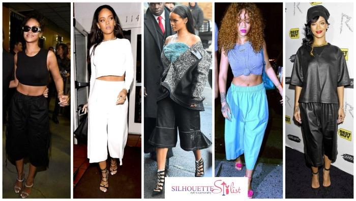 5 Times Rihanna Woe Culottes