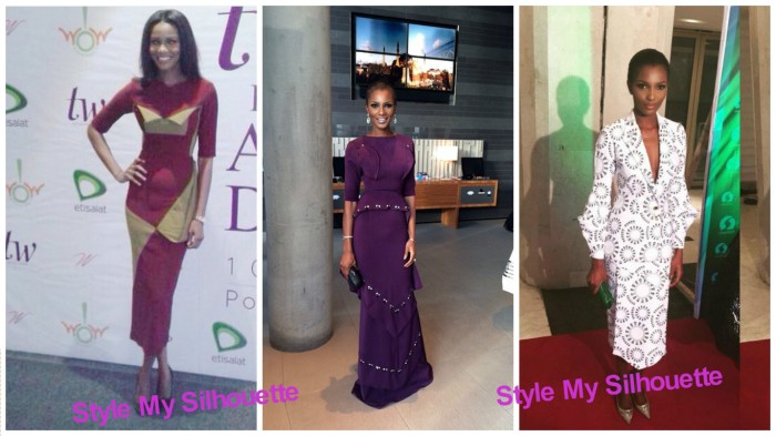 Agbani Darego in Meena by Uju Offiah
