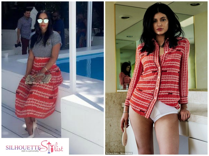 Kylie Jenner Vs. Eudoxie Bridges in Gucci SS16