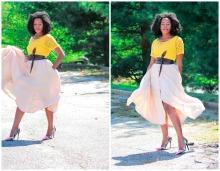 Playful Lace Top + Flirty Skirt