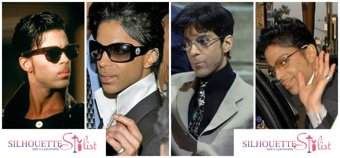 Prince in Aviator sunglasses