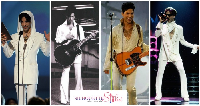 Prince in White Bohemian overalls
