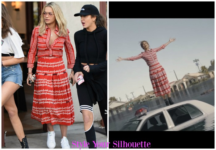 Gucci SS16 Print Dress: Rita Ora Vs. Beyonce Formation